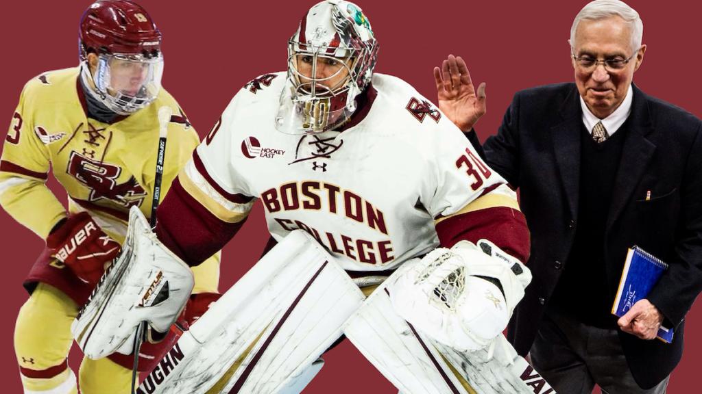 Knight, Nesterenko, and York Earn Hockey East Major Awards