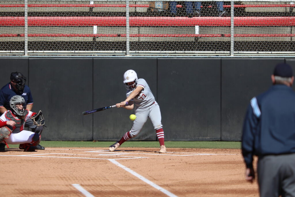 BC Softball Drops Tightly Contested Battle of Comm Ave.