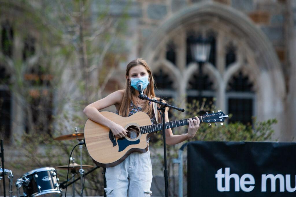 Student Bands Shine at Quadstock Concert