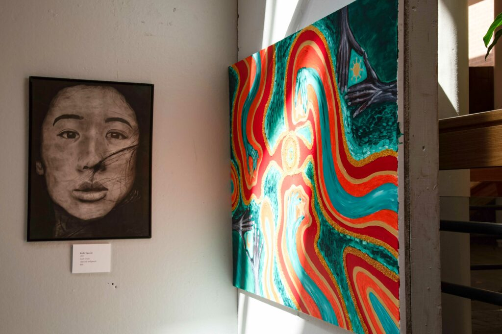 Arts Walk Exhibits Student Work Across Campus