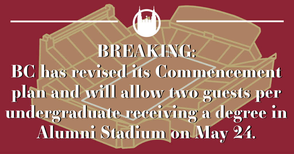 Commencement Policy Updated to Allow Two Guests