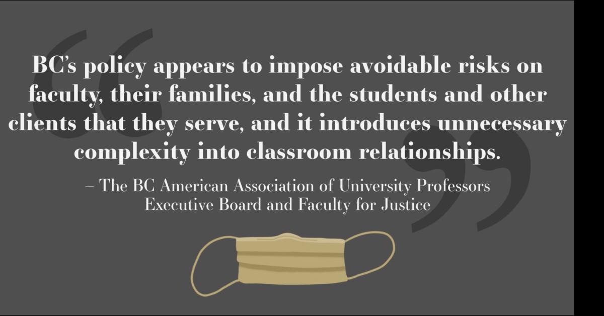 Boston College Professors Request a Classroom Mask Mandate: An Open Letter to Boston College Administrators