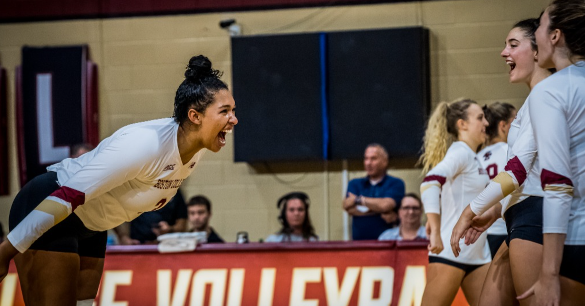 Naughton Propels BC Over Northeastern, Eagles Stay Perfect