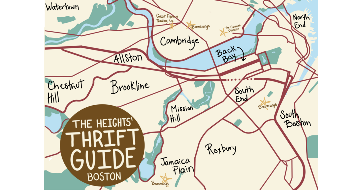 Sofia's Guide to Thrifting in Boston