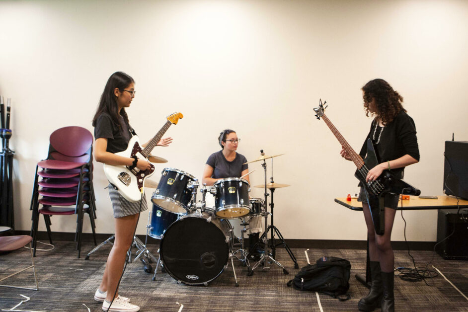 Student Band Cherry Dawn Planet Eclipses the Odds