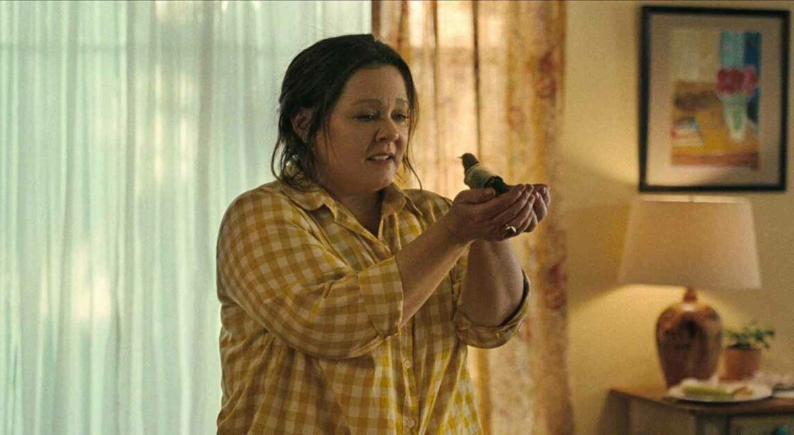 Insincere Dialogue in 'The Starling' Lacks Emotional Impact