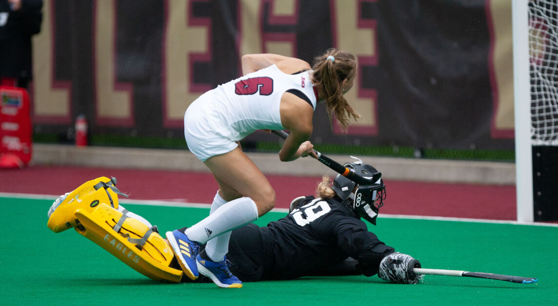 Eagles Fall To UMass In Shootout