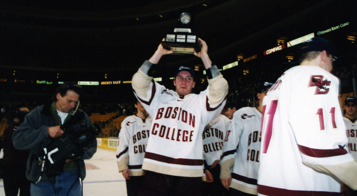 2001 National Championship Winner Brooks Orpik Returns to BC in Coaching Role