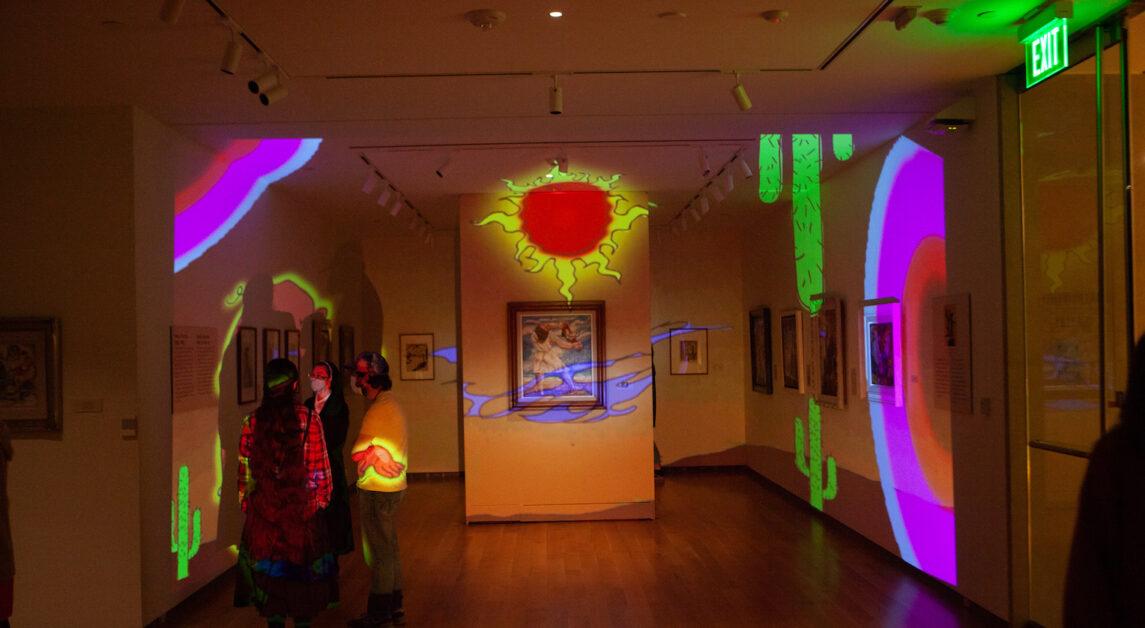 Art After Dark Event Lights Up McMullen Museum