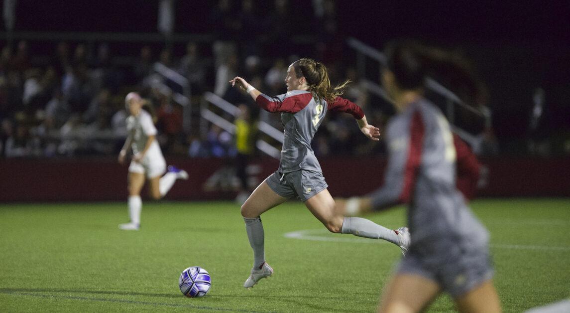 Single Virginia Tech Goal Enough to Down Eagles