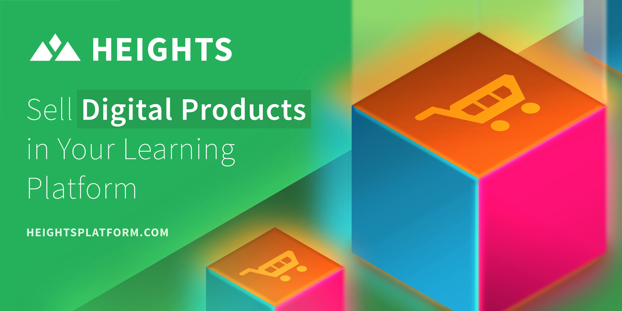 Heights Platform Selling Online Courses and Digital Products in Your Learning Program