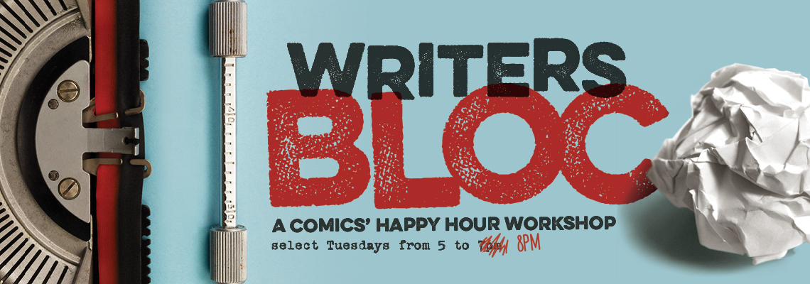 Writers Bloc Banner