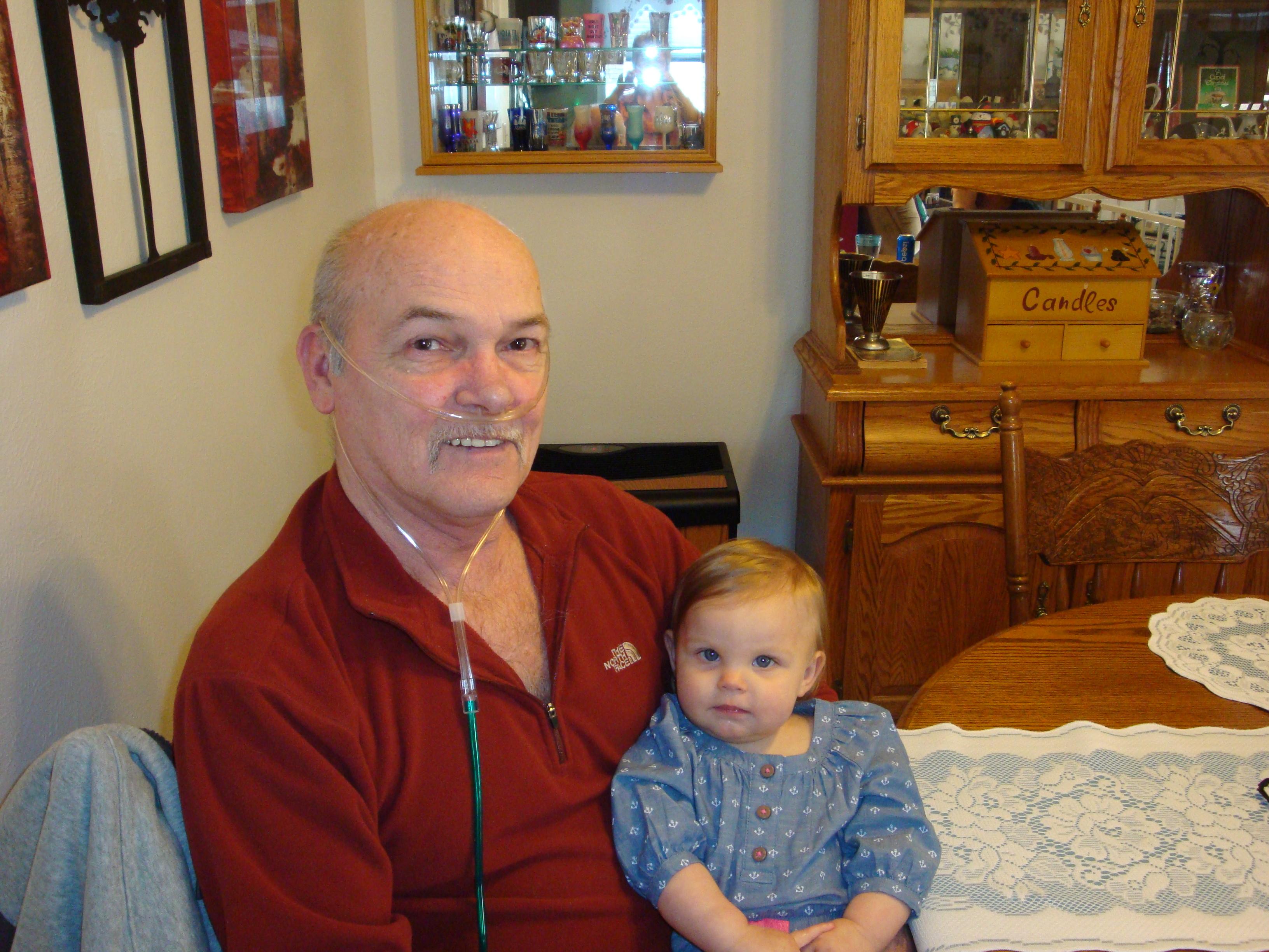 Grampa & Paelynn