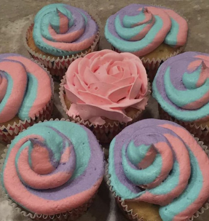 Cupcakes for Sue