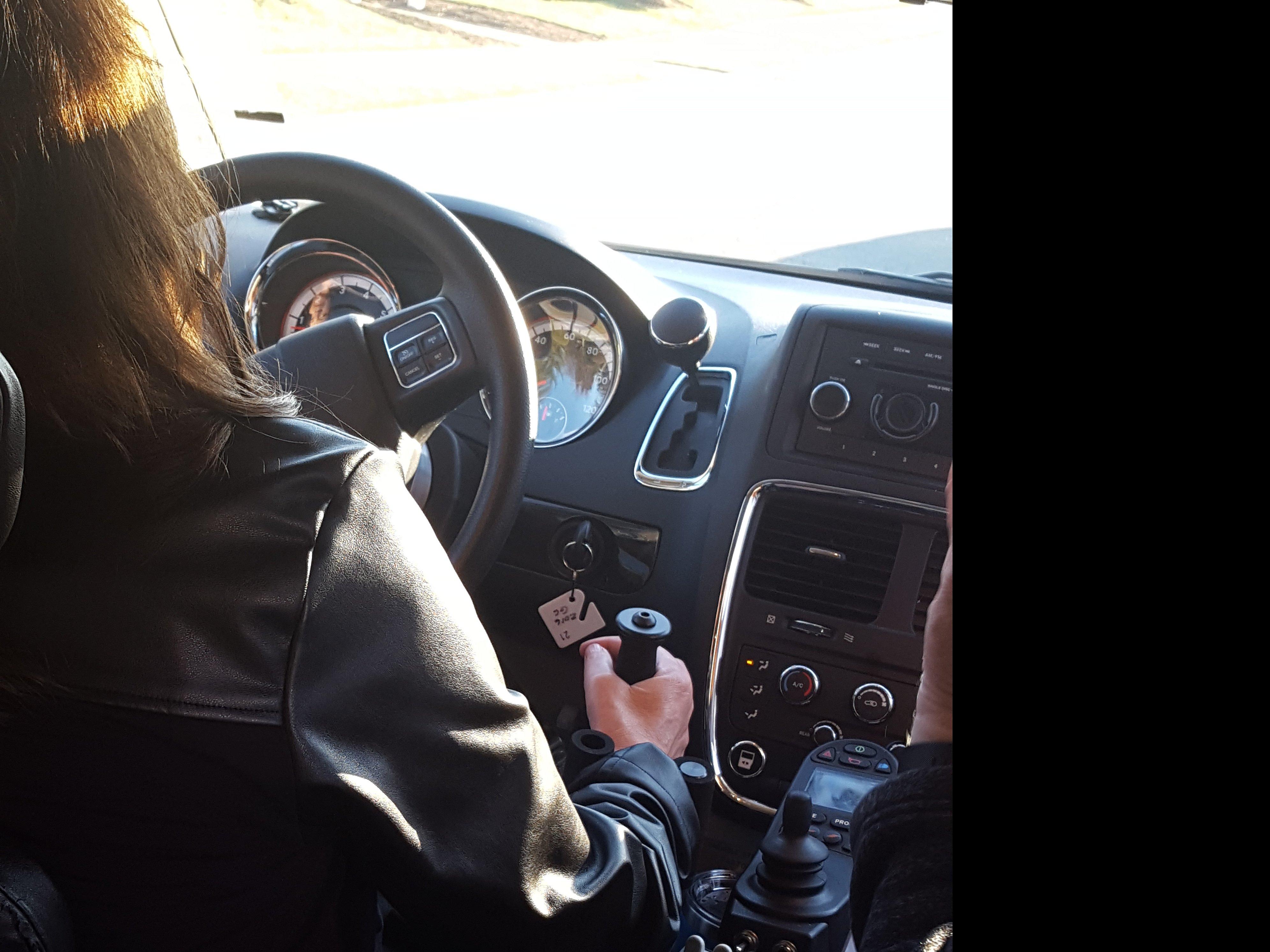 Driving!