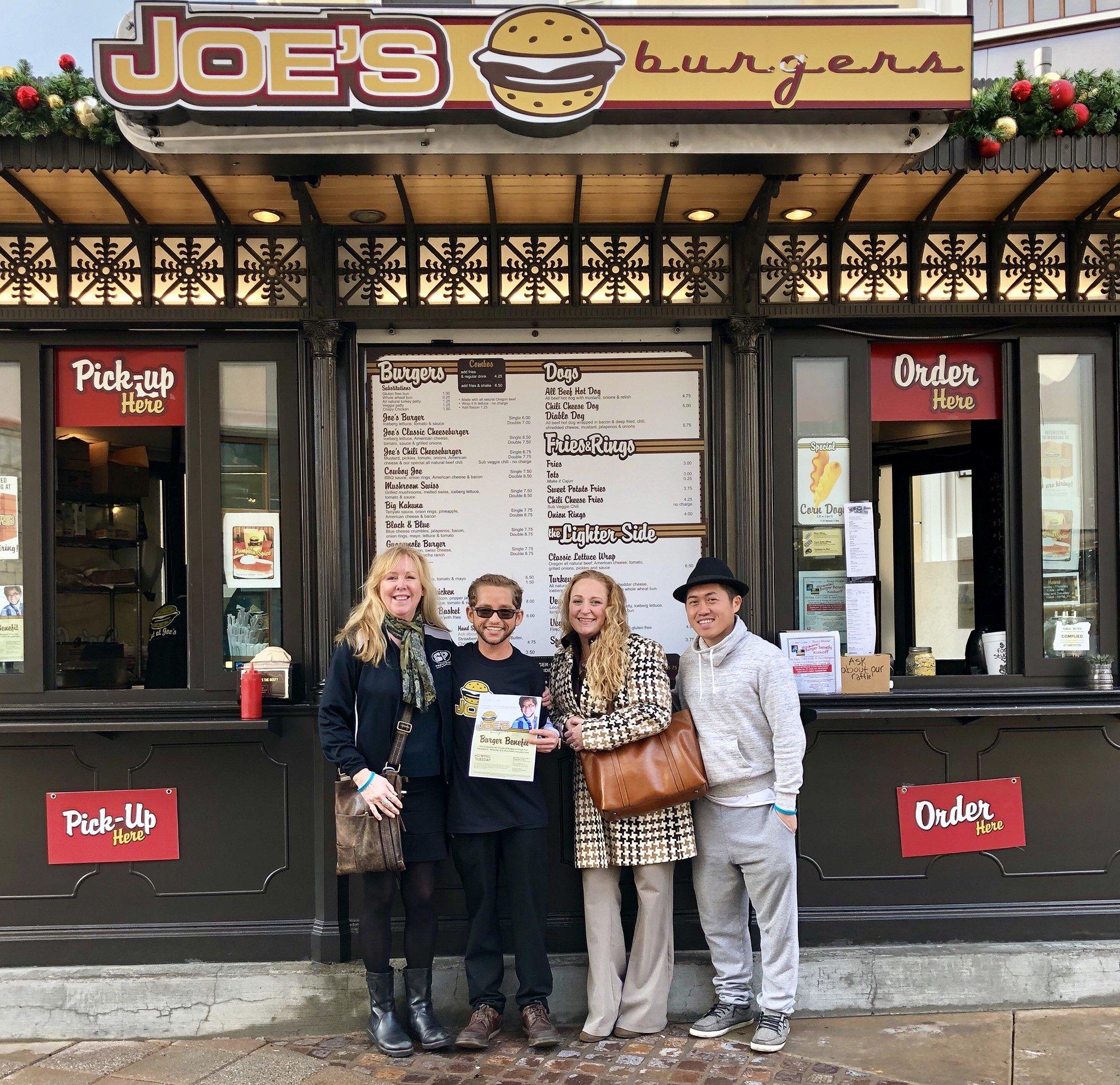 Day 1 Fundraiser Joe's Burgers Bridgeport Village
