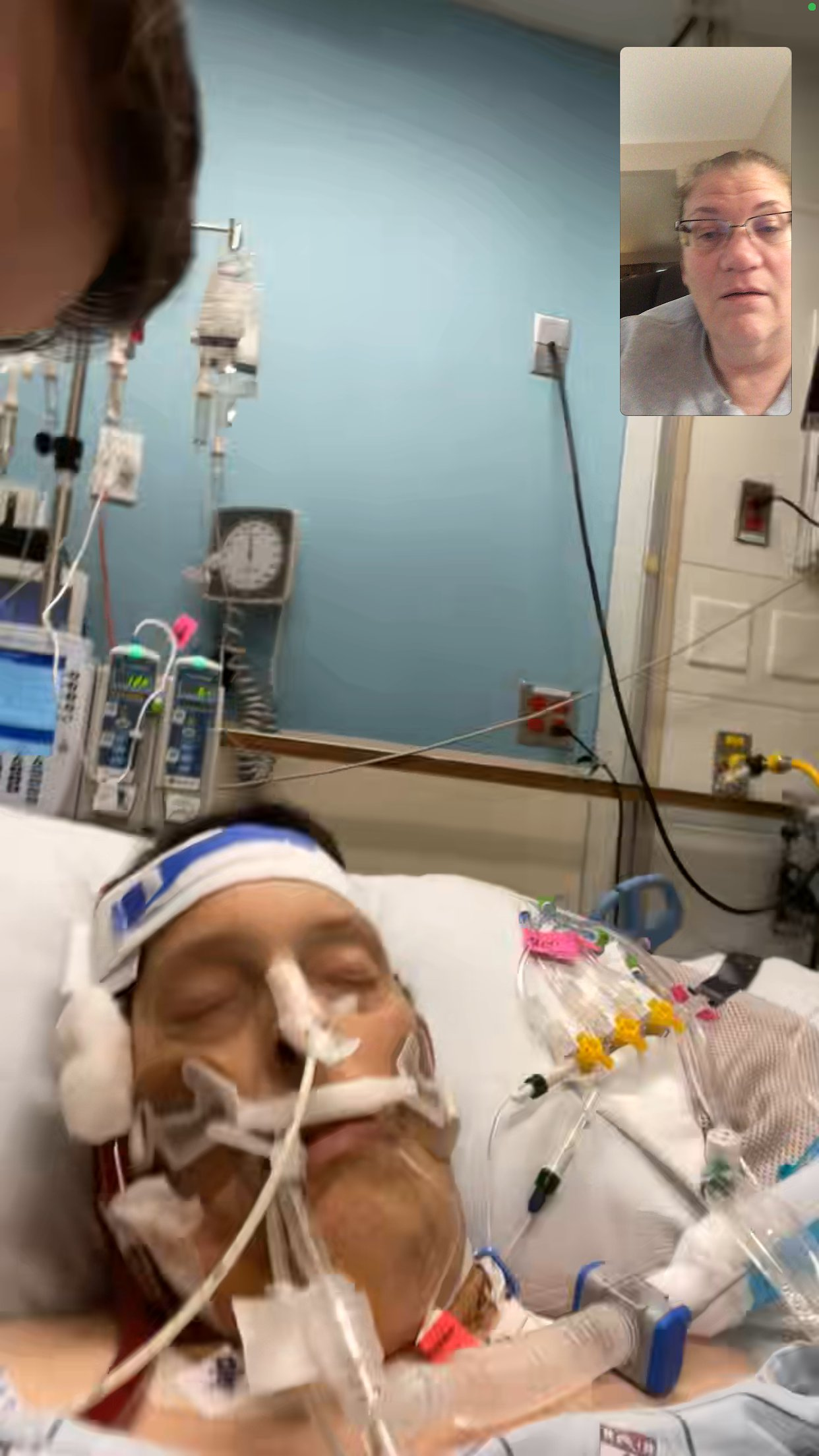 December 2020 Bacterial Pneumonia Hospital Stay