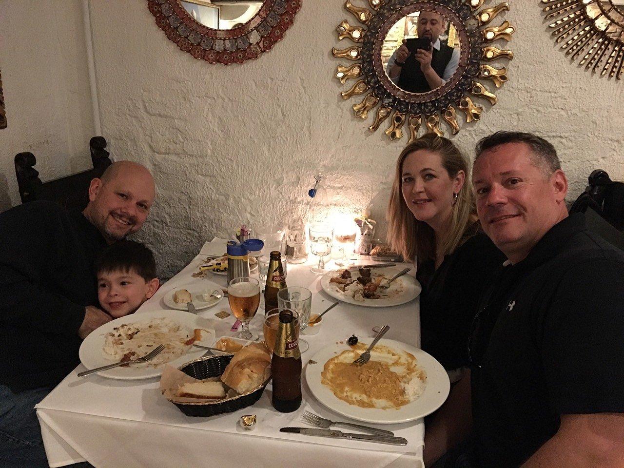 Michael & the Hernandez Family