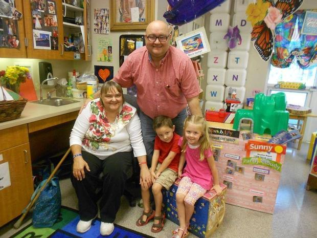 Gaylen's Grandparents Day Visit