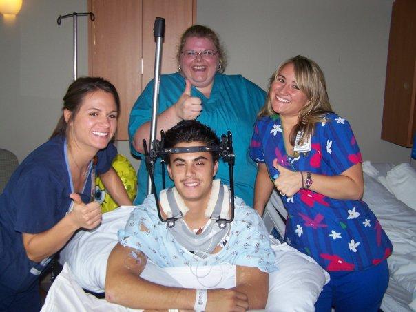 Gary Hospitalized