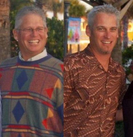Scott and David
