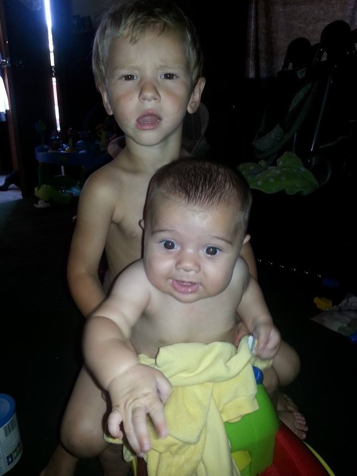 JORDAN and CAIDEN my GRANDSONS