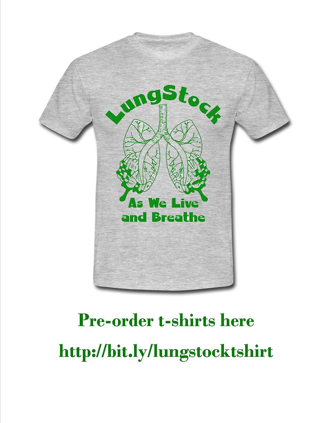 LungStock 2017 T Shirts