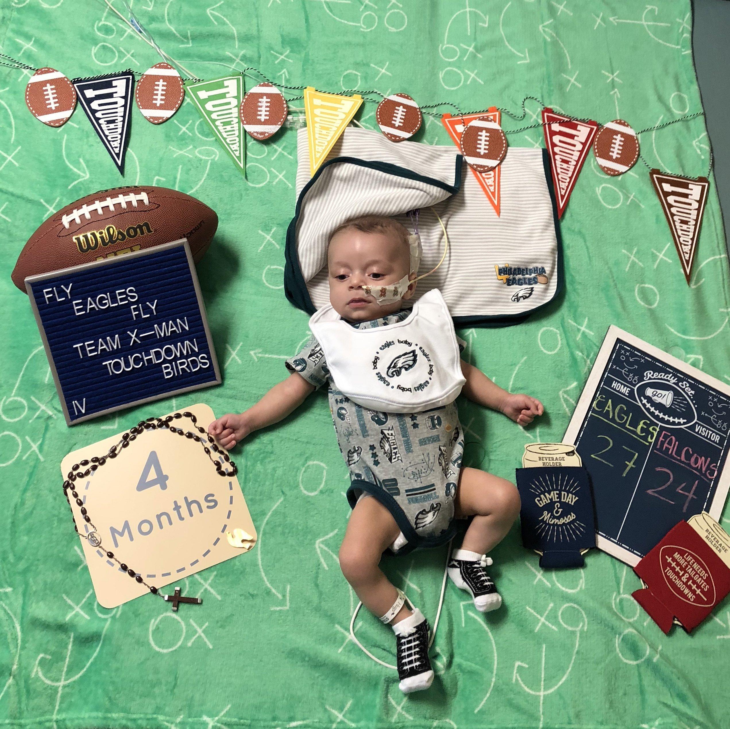 Xander 4 Months