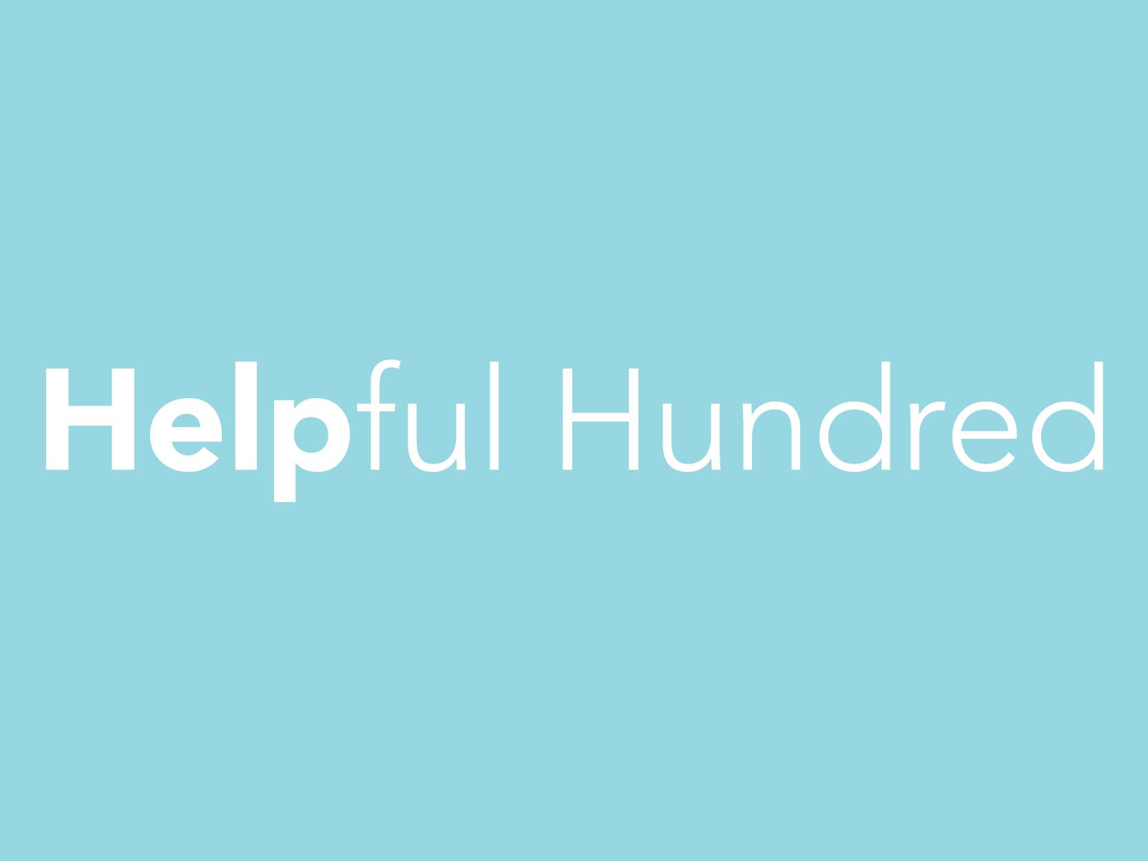 Helpful Hundred