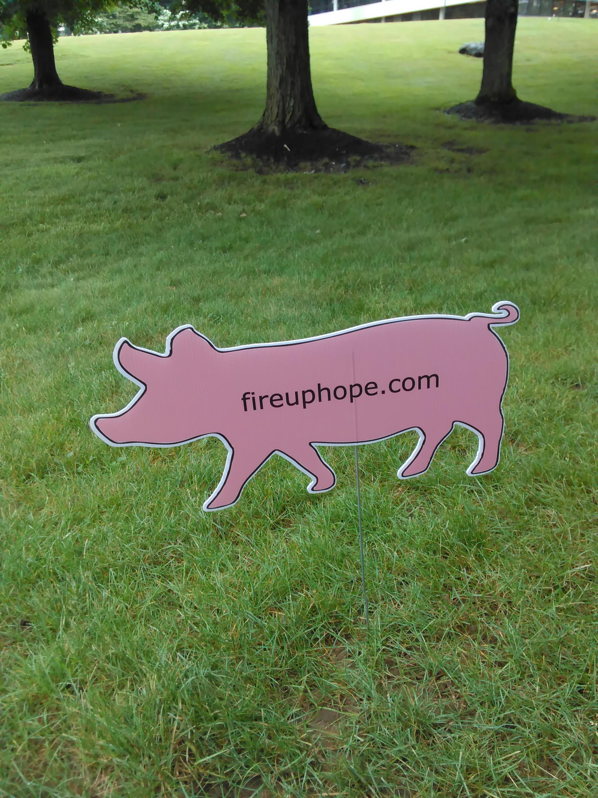 Lawn Pigs