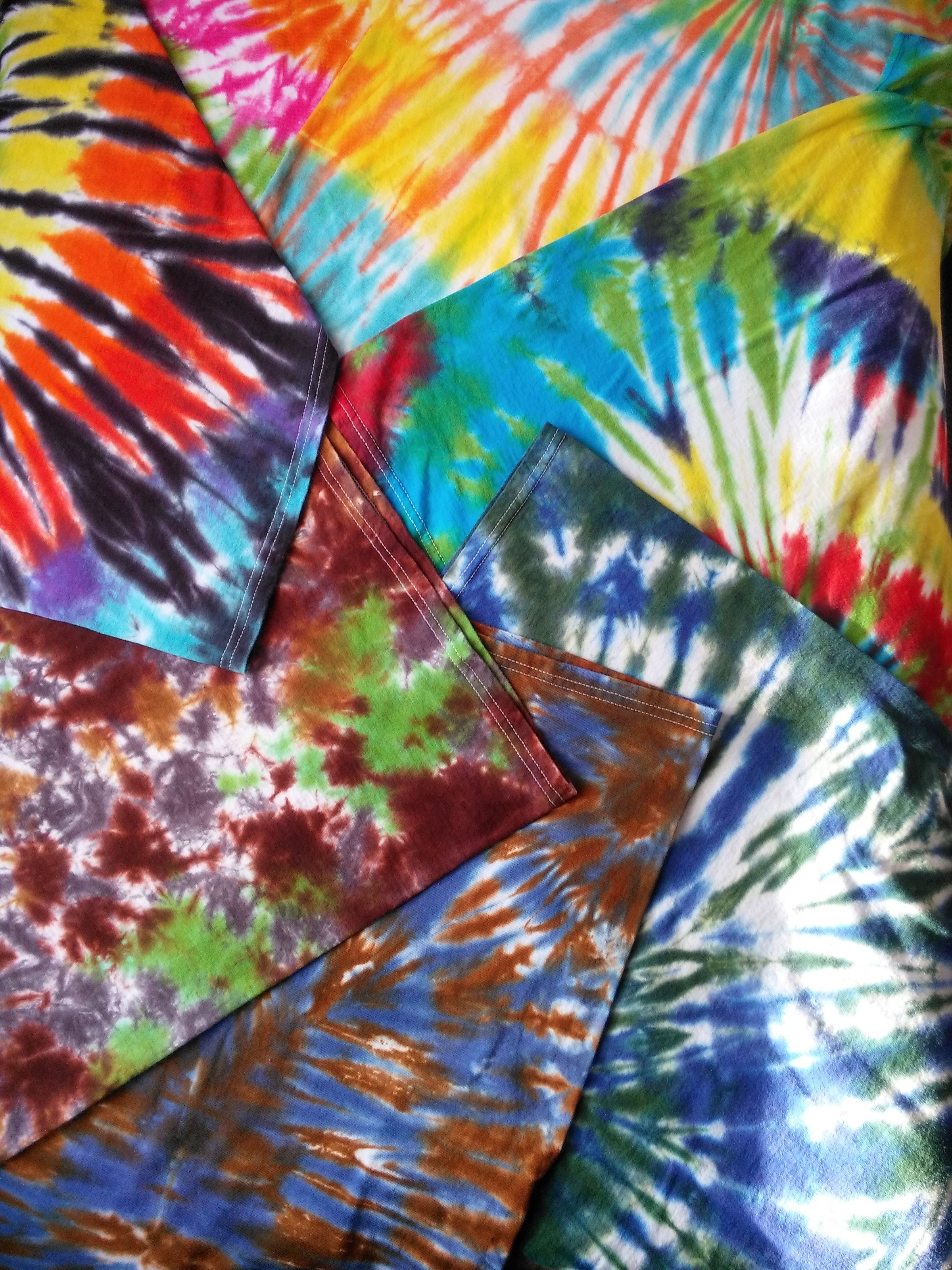 Tie Dye for our cause