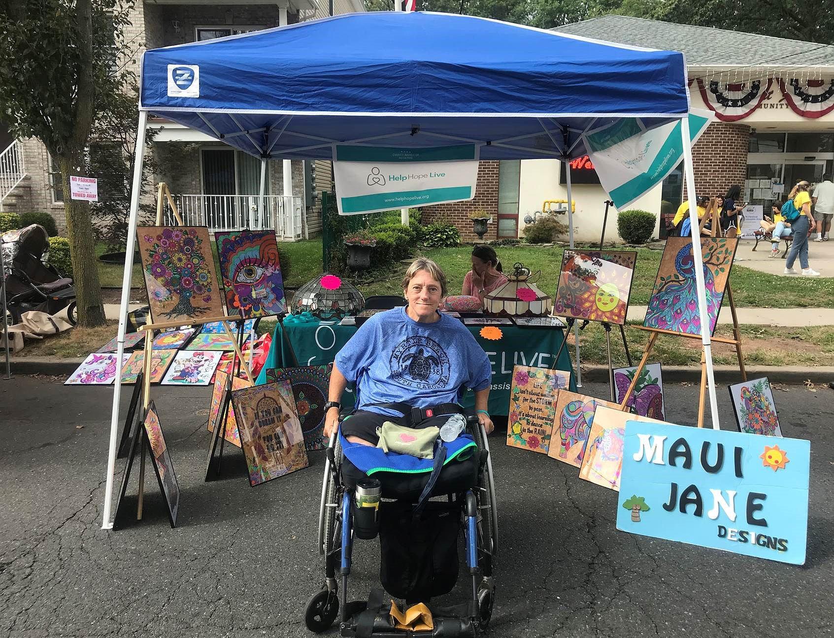 Jane Koza 2019 Art Show
