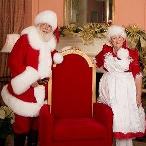 Deryl is Santa