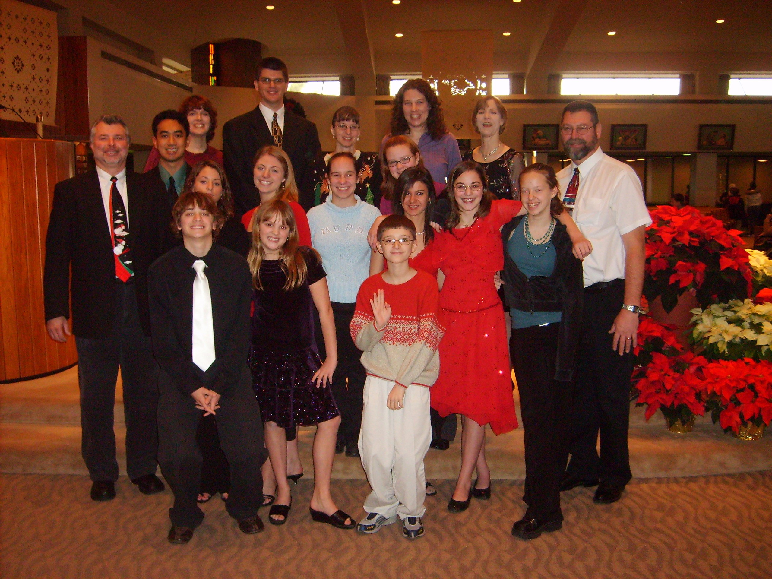 Church group 2007