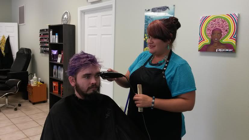 Shaving For Chemo 7/19