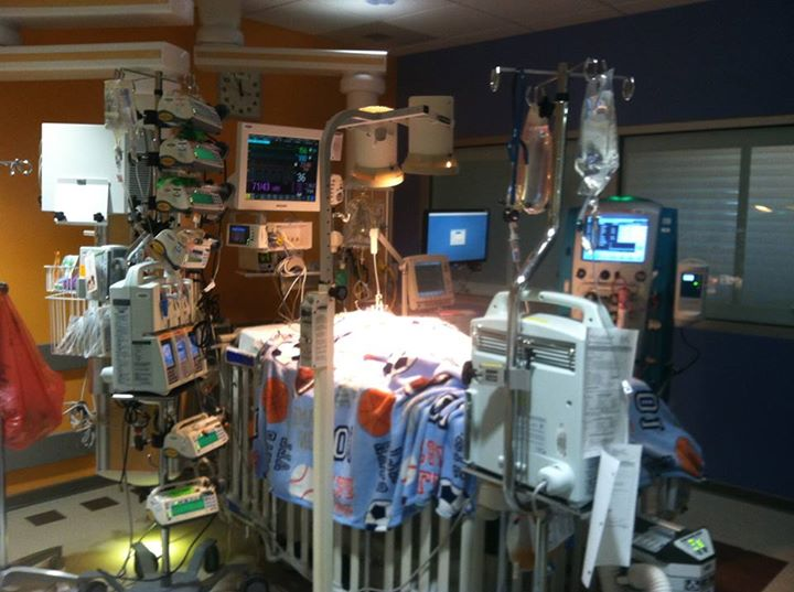 Early Days - Our month in the ICU