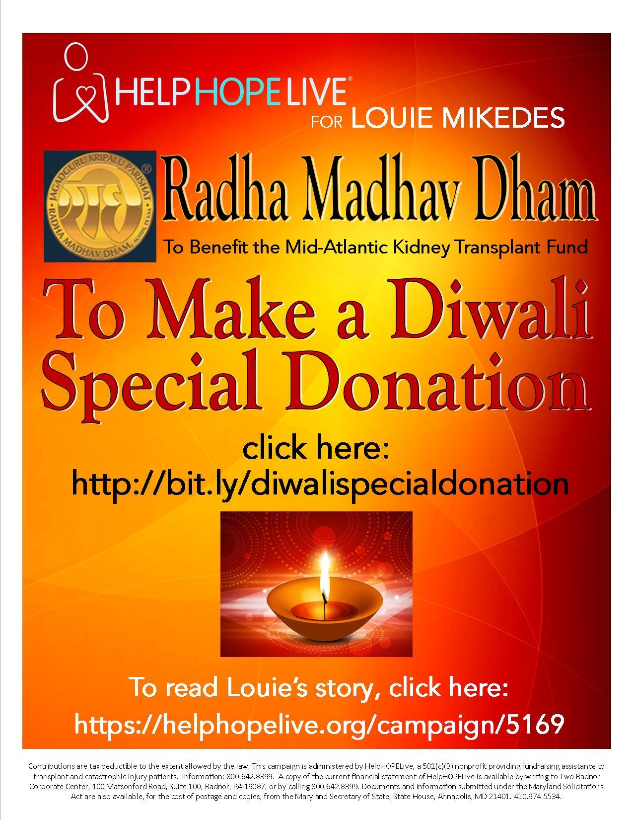 Diwali Donation