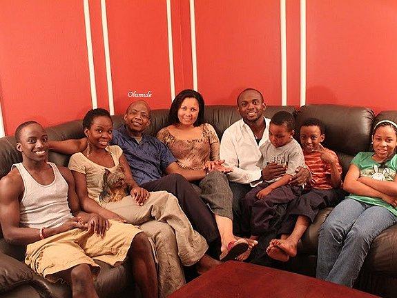 Olumide's family