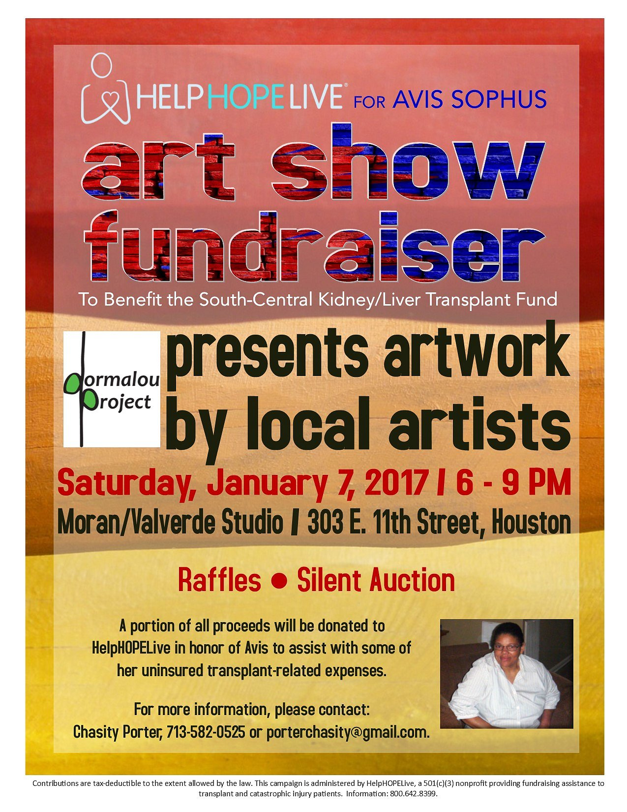 Save Avis: Art Show Fundraiser