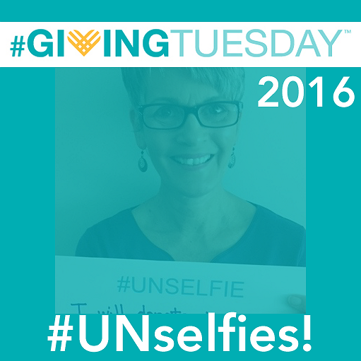 #GivingTuesday 2016 #UNselfies!