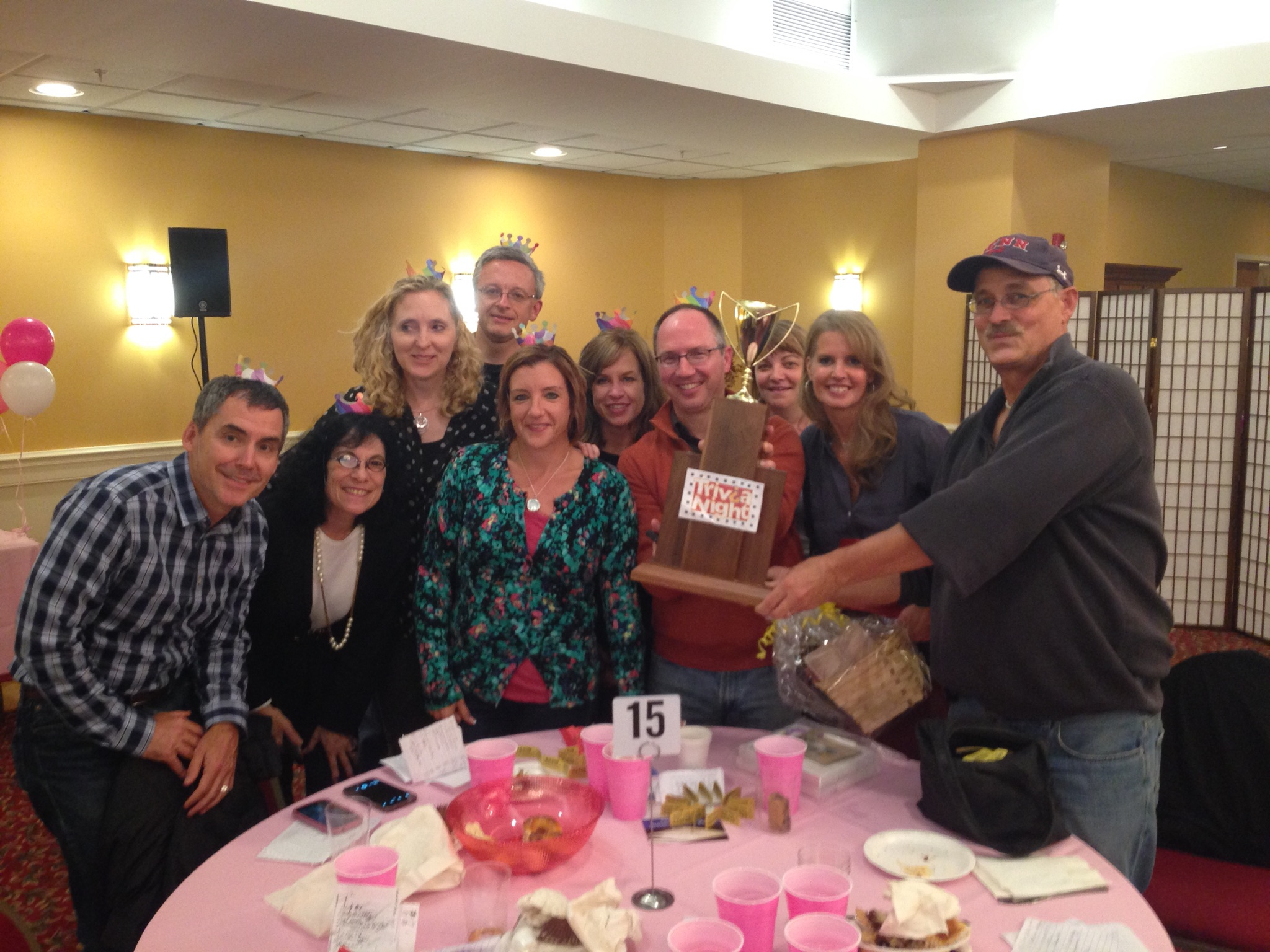 TRIVIA NIGHT - October 11, 2014