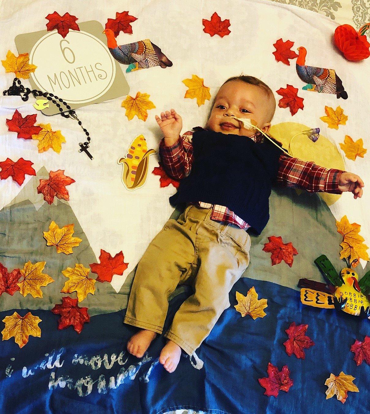 Xander 6 Months