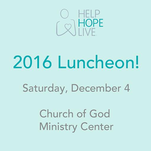 2016 Luncheon Fundraiser