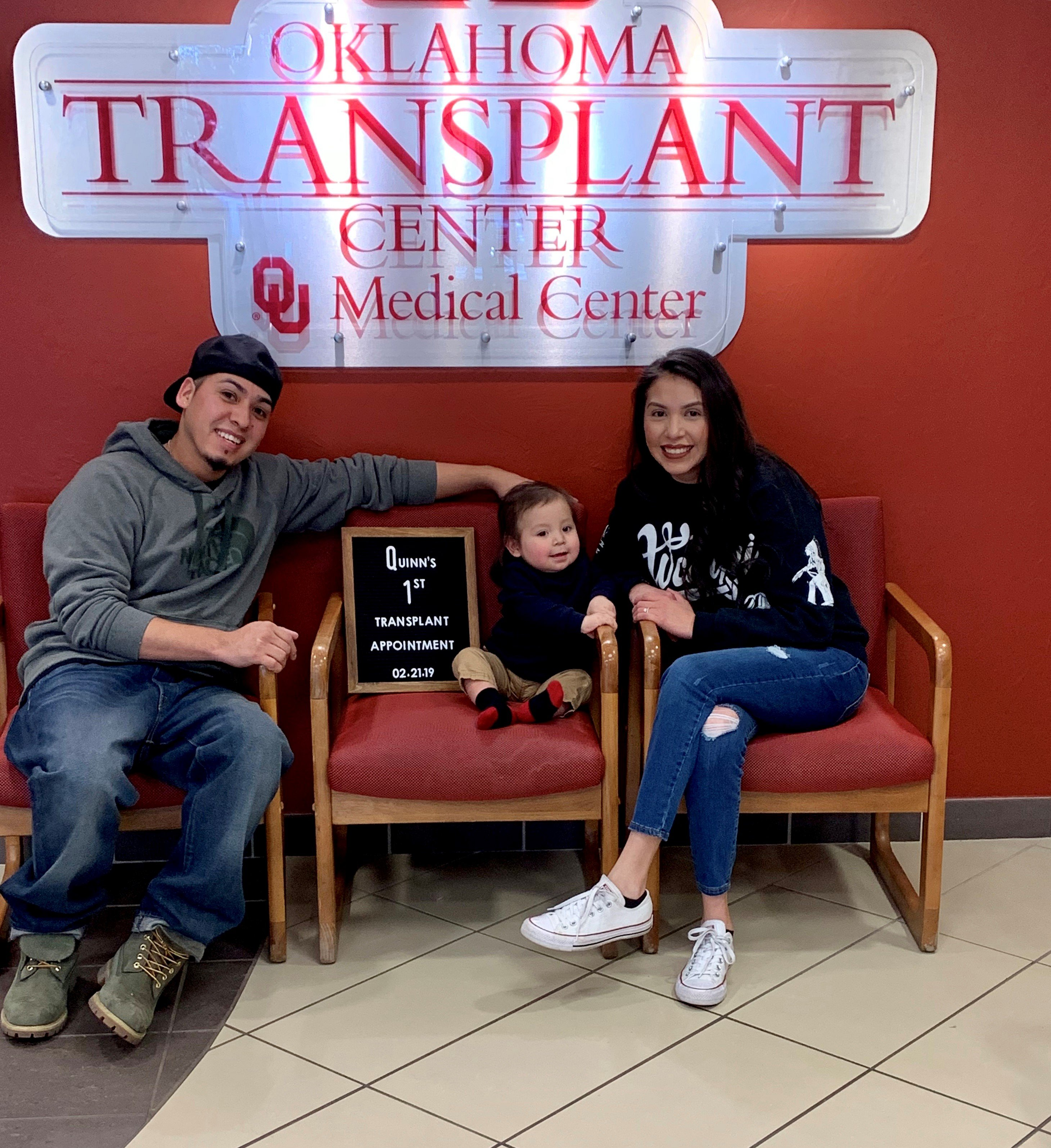 1st transplant appointment