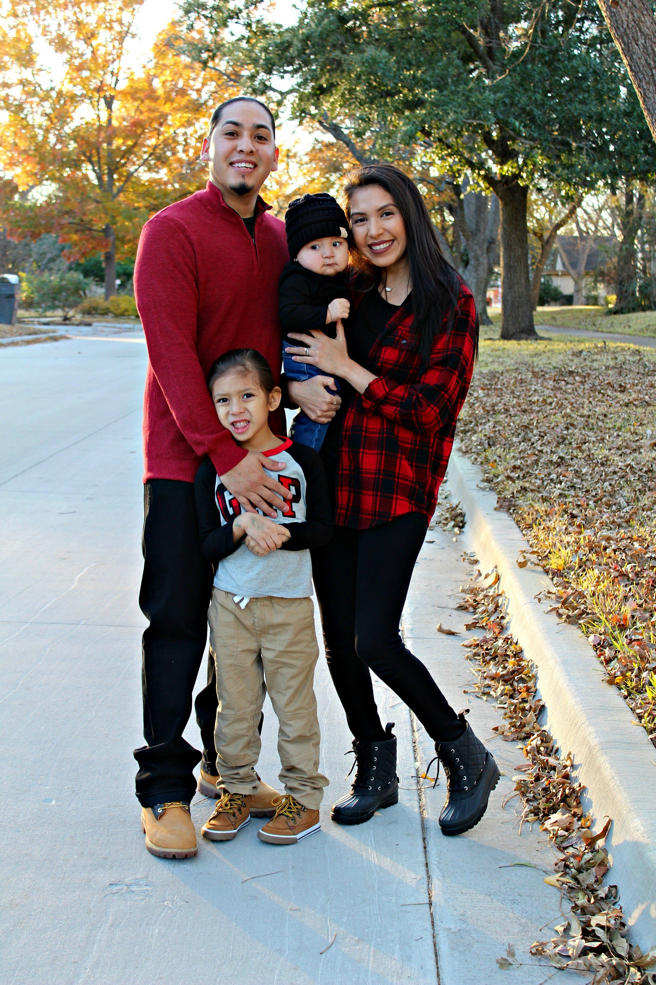 Quinn & his family