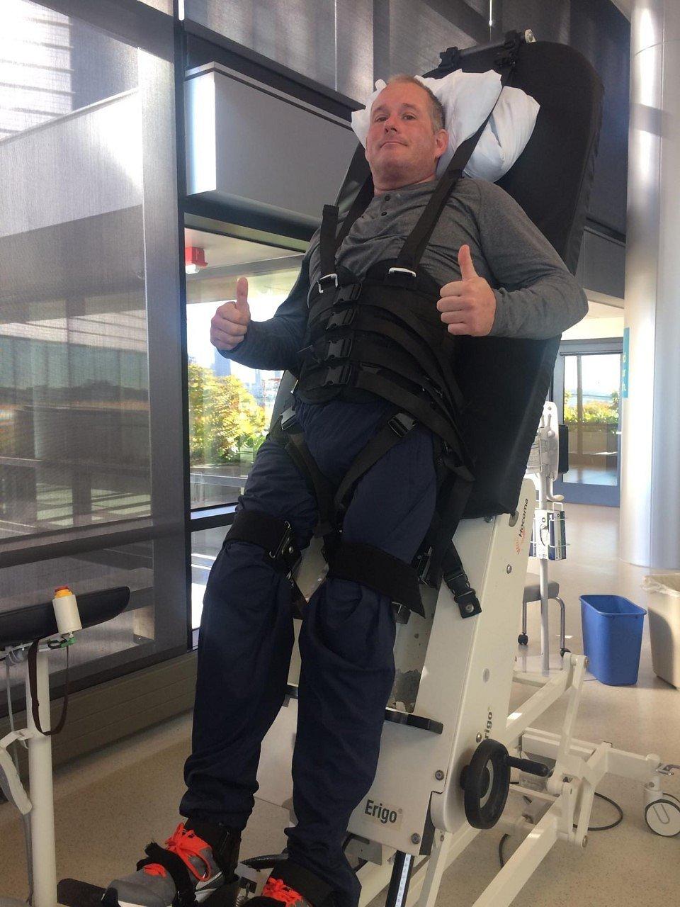 Matt at Spaulding Rehab.