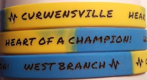 Heart of a Champion Wristbands