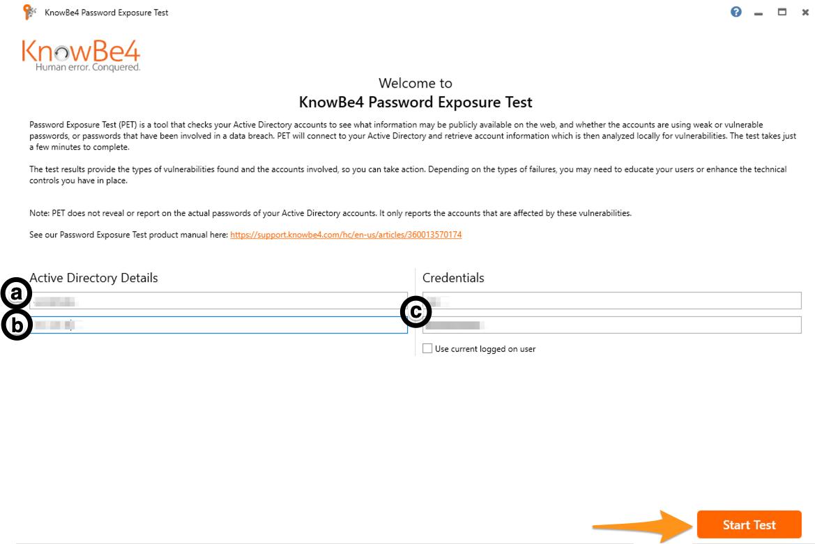 Password Exposure Test (PET) – Knowledge Base