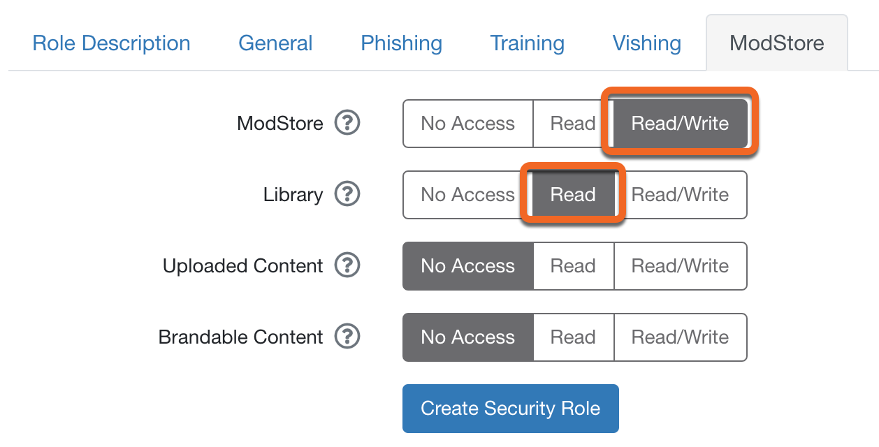How to Use Security Roles – Knowledge Base