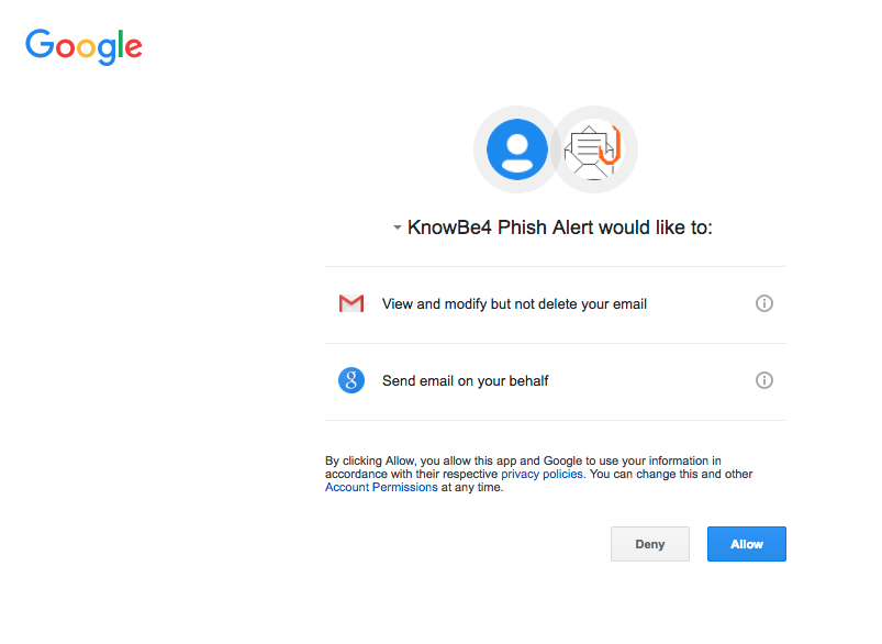 Phish Alert Button Guide for Google Suite – Knowledge Base